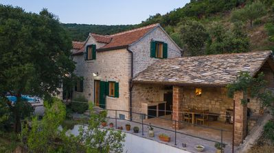 Photo for 200 year old Mediterranean stone house recommended by The Sunday Times