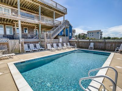 Photo for Salt Shaker | 358 ft from the beach | Private Pool, Hot Tub