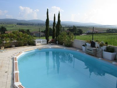 Photo for House with swimming pool in Villeneuve Minervois