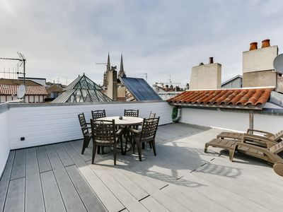 Photo for Bayonne - Charming duplex with terrace