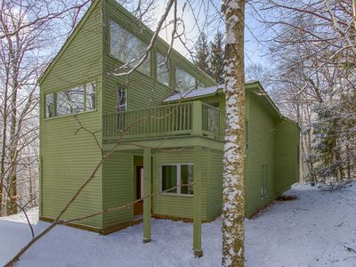 Photo for Chalet Hoo: Ski In-Ski Out/Hot Tub/Sauna/Yard w Zipline (Summer)/ GREAT FOR KIDS