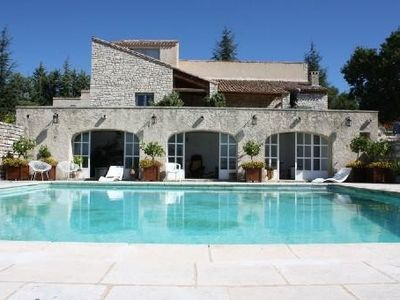 Photo for Large villa for rent in large quiet property with pool