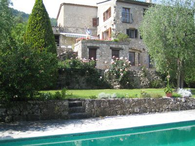 Photo for 17th Century Stone Mas On Three Levels, Garden, Pool, Private, Air-Conditioned