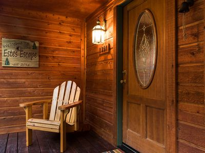 Photo for Estes Escape Lodge - Spacious with Mountain Views and the River Just Steps Away!