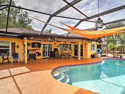 Photo for Melbourne Home w/ Lanai & Pool - Mins to Beaches!