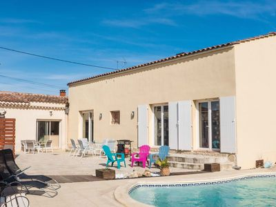 Photo for Beautiful, detached holiday home with spacious garden and private pool
