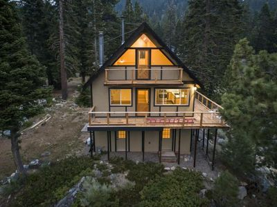 Photo for Beautifully remodeled cozy Lake Tahoe home with stunning views