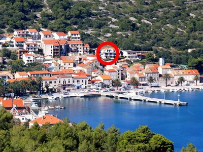 Photo for Apartment in Vis (Vis), capacity 2+1