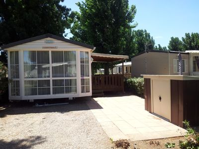 Photo for rental Mobile home 44m2 Vias beach, air-conditioned 6 pers