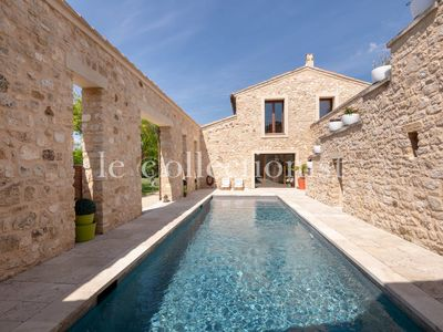 Photo for Villa Bronze, with pool for 8 guests, near Aix en Provence