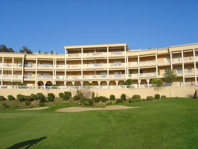 Photo for Luxurious apartment in private estate on the edge of a beautiful golf course, 18 holes