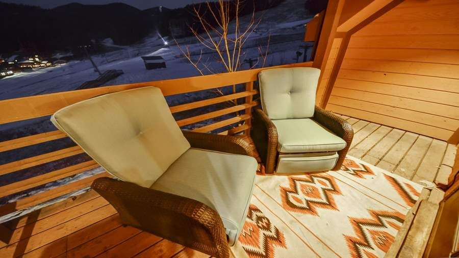 Ski Run condos are on Angel Fire's ski mountain.