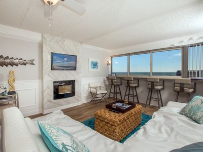 Photo for Enjoy this stunning ocean front studio perfect for a small family!