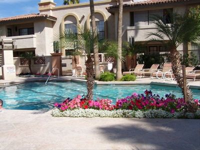 One of our three swimming pools