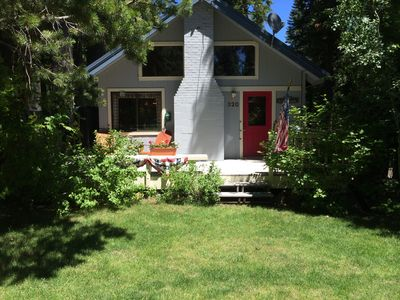 Photo for West Shore home: A boutique, cheerful retreat next to lake, trails
