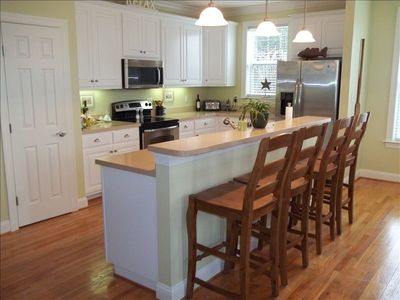 Kitchen Island with seating for 4.