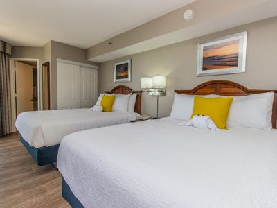 Photo for BEST TIME TO VISIT THE BEACH IS NOW! PET FRIENDLY OCEANFRONT AT PATRICIA GRAND