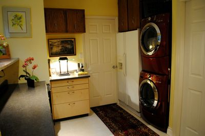 Laundry facilities shared with other guests at no cost.