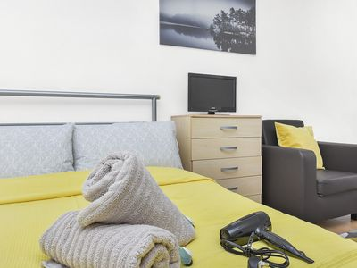 Photo for LARGE & COMFY Studio Apartment For 4 People!