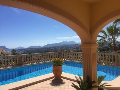 Photo for Villa El Portet Moraira with private pool and beautiful sea views