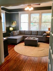 Photo for Large Historical Home eclectic Downtown Great reviews  with off street parking