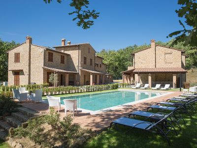 Photo for Apartment in a Tuscan village just outside Montepulciano
