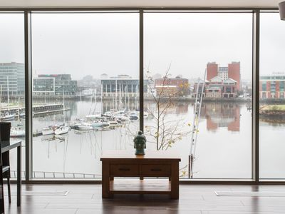 Photo for Luxury Apartment in Titanic Quarter with Marina Views!