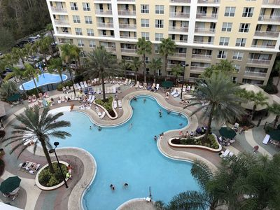 Photo for 1 Bedroom Full Service Condo Resort Minutes From Disney Parks
