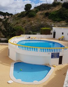 Photo for Delightful apartment in the centre of Praia do Carvoeiro