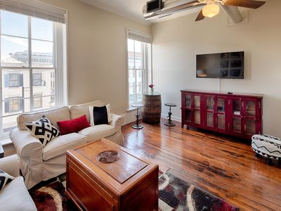 Photo for NEW LISTING! Charming historic home on Broughton St -near shopping, Forsyth Park