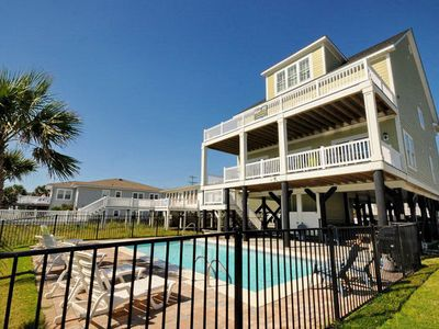 Photo for Landshark, Luxury Oceanfront Cherry Grove Home with Game Room and Pool