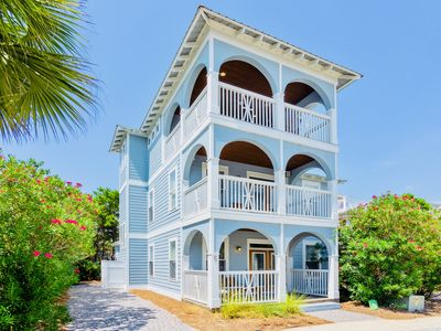 Photo for Luxury 4BR beach home in heart of Seacrest, Rosemary, and Alys Beach