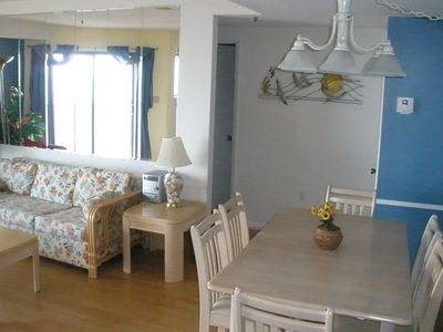 Photo for AFFORDABLE, Beautiful beach condo with STUNNING Ocean views!