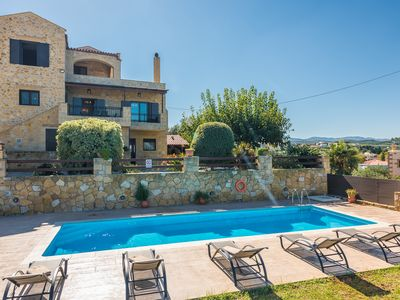 Photo for A 3 bedroom villa with private pool, bbq and nice panoramic view