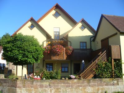 Photo for Comfortable apartment between Franconian wine country and Steigerwald