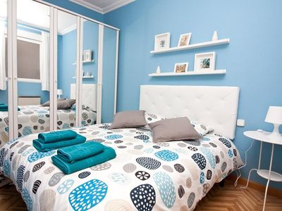 Photo for In Madrid with Internet, Air conditioning, Lift, Washing machine (467181)