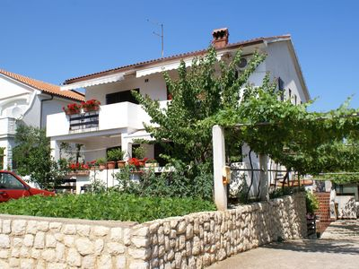 Photo for 35 m2 apartment with air conditioning, satellite TV and internet in the city of Krk