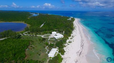 Photo for PLAGE ROSE, New 2 Bedroom Estate, 9 Acres, 725' Of Beachfront