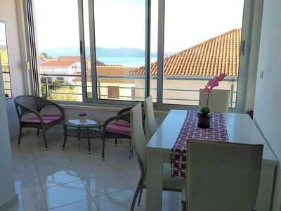 Photo for Sea view holiday apartment, just minutes away from the beach