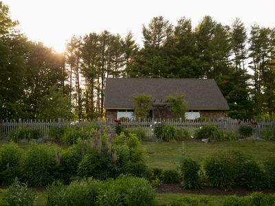 Photo for Gorgeous 13acre Property on the Sheepscot River w/2 Bedroom Cottage & Air Stream