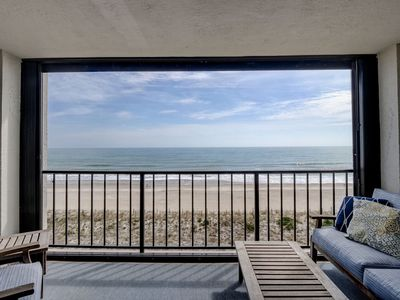 Photo for Station One - 5C Stewart-Oceanfront condo with community pool, tennis, beach