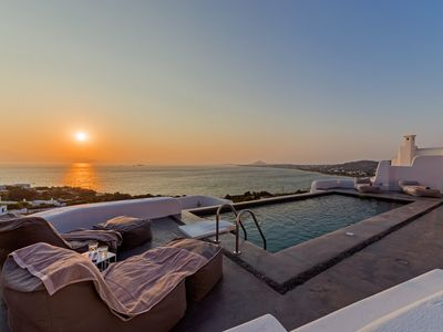 Photo for Villa Venti Naxos | Luxury Sea View Villa in Naxos