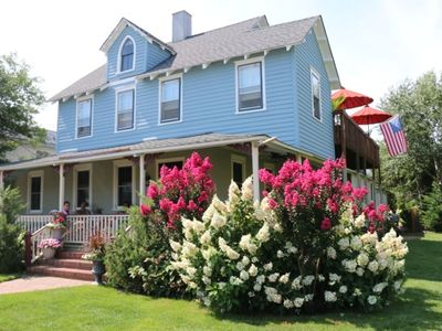 Photo for Lovely 3 Bedroom Apt in Beautiful Oceanside Victorian in Historic District