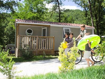 Photo for Camping Saint Pierre de Rousieux *** - Mobile home Ohara 3 Rooms 4 Persons