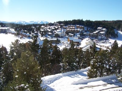 Photo for Nice studio 5 min from ski slopes w/ mountain view