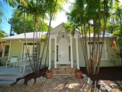 Photo for Quiet, dog-friendly getaway in a residential neighborhood with a shared pool