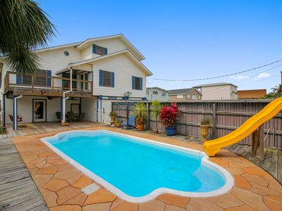 Photo for Chasing Sunsets with private pool is a spacious canal home in Sea Isle
