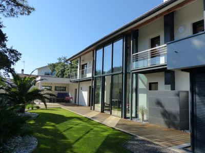 Photo for Villa HARITZ KORTXOA for 10 persons between lake and ocean- Free Wifi- Jacuzzi.