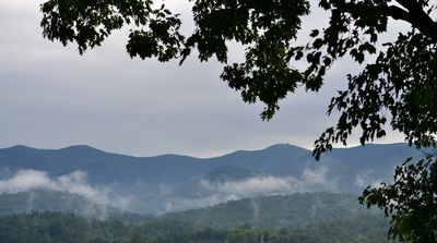 Mountains after a summer rain (from porch)