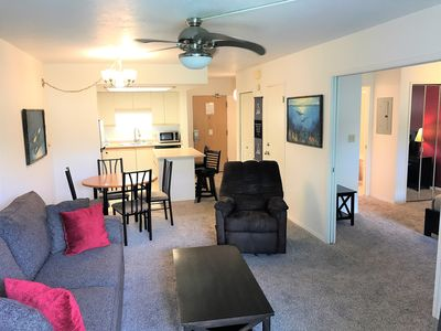 Photo for Great Location!! Across From Beach, Restaurants, & Shops-H112